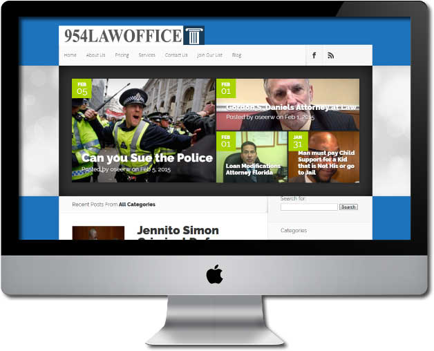 Law Office Website Design